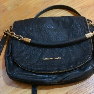 Michael Kors Stanthrope leather bag